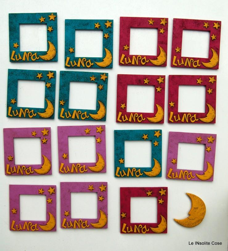 Cornici portafoto magnetiche bomboniera per luna - Le INsolite Cose 2016 (5)