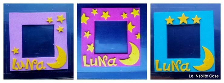 making of cornice portafoto luna - le INsolite Cose 2016