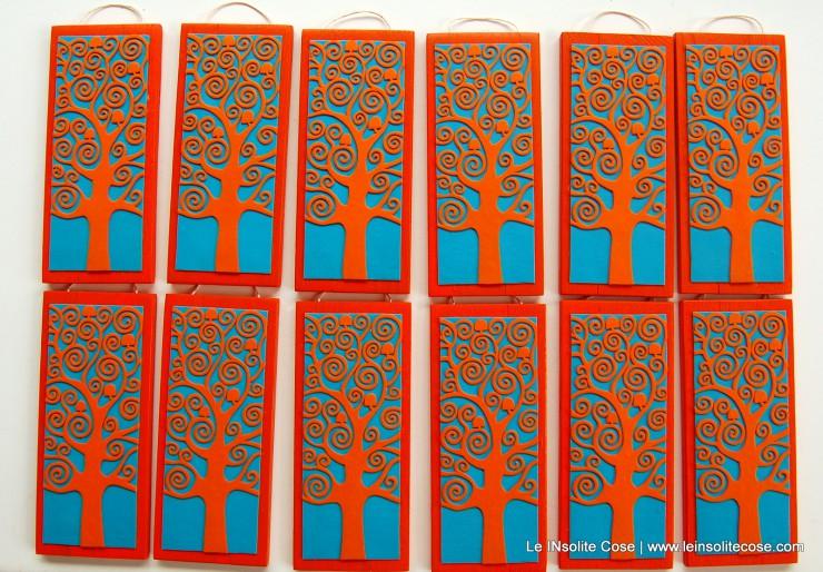 albero della vita bomboniere artigianali per il battesimo di Lucio - le INsolite Cose