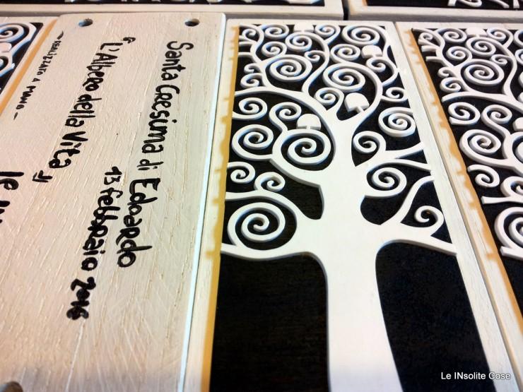 Albero della vita di Klimt bomboniera per Cresima - Le INsolite Cose 2016 (4)