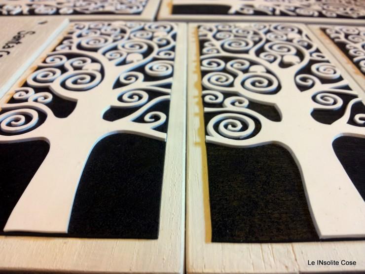 Albero della vita di Klimt bomboniera per Cresima - Le INsolite Cose 2016 (5)