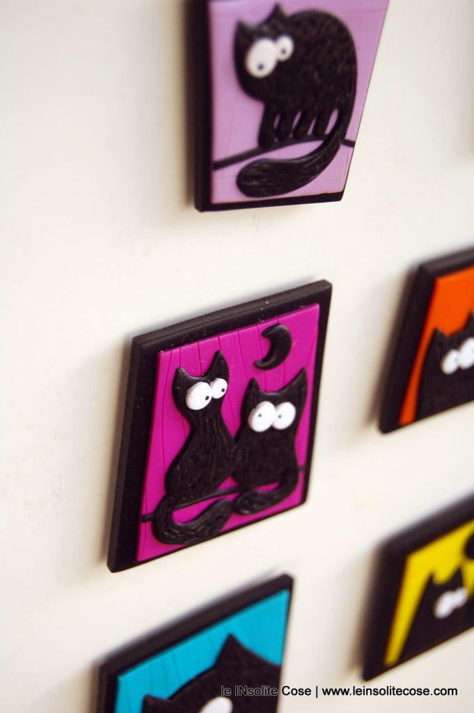 Calamite gatto nero stilizzato piccole con riquadro www.leinsolitecose.com - le INsolite Cose 2016 (5)