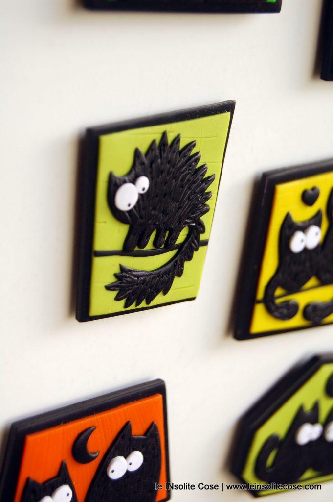 Calamite gatto nero stilizzato piccole con riquadro www.leinsolitecose.com - le INsolite Cose 2016 (8)