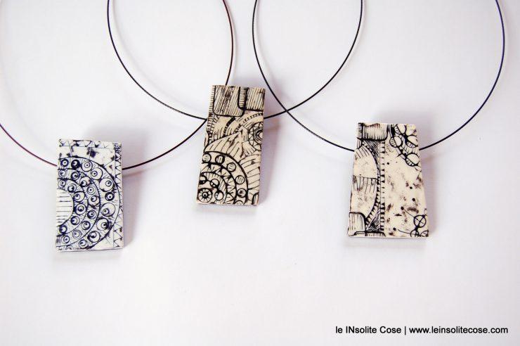 Ciondoli in pasta polimerica - Falsa Ceramica - www.leinsolitecose.com - Le INsolite Cose 2016 (87)