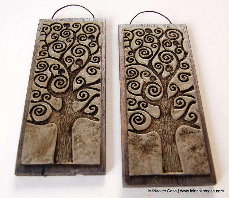 albero della vita artigianale bomboniera comunione o cresima o matrimonio