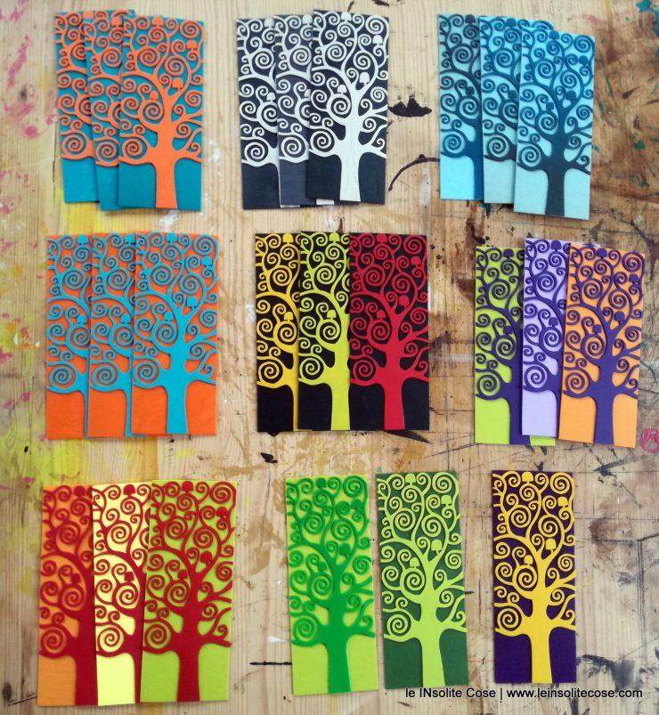 alberi della vita in rilievo
