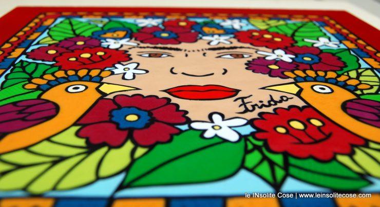 Quadro Frida Kalho Tribute per Susanna