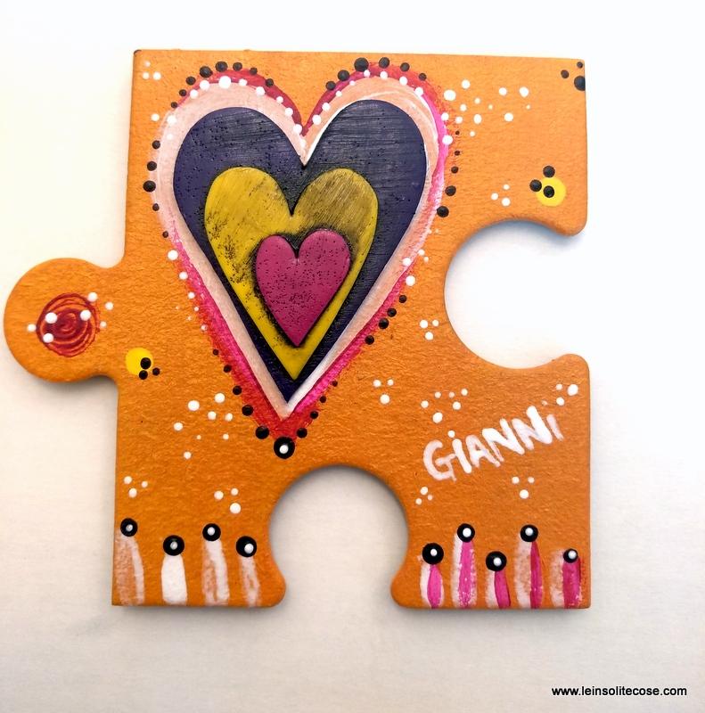 Bomboniere puzzle insolite