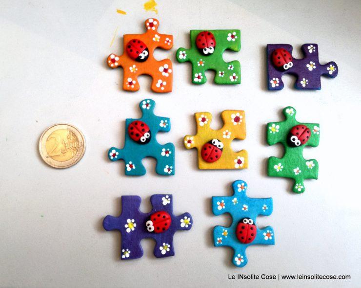Calamite Puzzle con coccinella