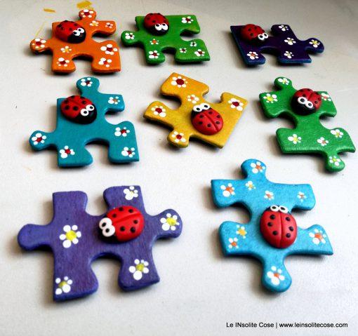 Piccole Calamite Puzzle con Coccinella – una richiesta estemporanea