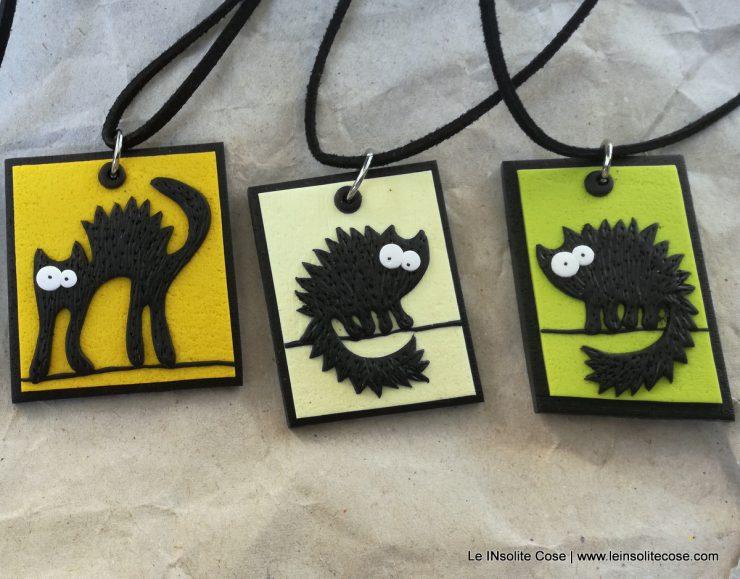 ciondoli gatto nero