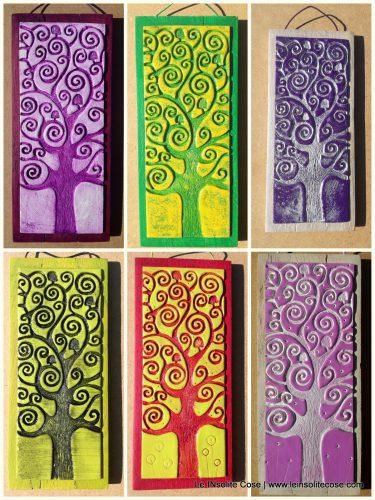 Albero della Vita – Versione Incisa – Alcune varianti di colori