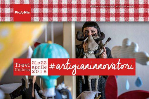 21 e 22 Aprile 2018: Le INsolite Cose a #Artigianinnovatori a Villa Fabri, Trevi (Perugia)