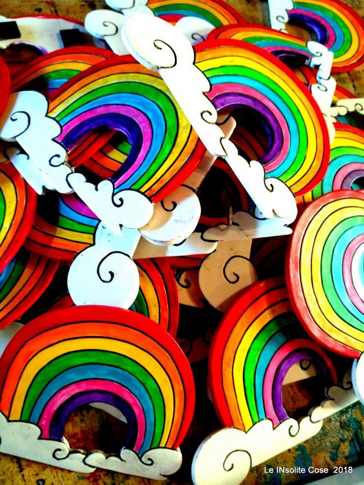 Bomboniere arcobaleno per il matrimonio di Giulia e Fabiana