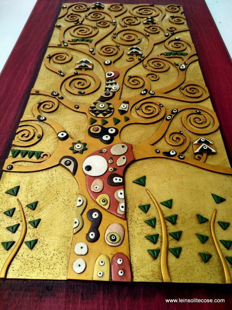 Albero della Vita di Klimt: biglietto di auguri per un matrimonio originale