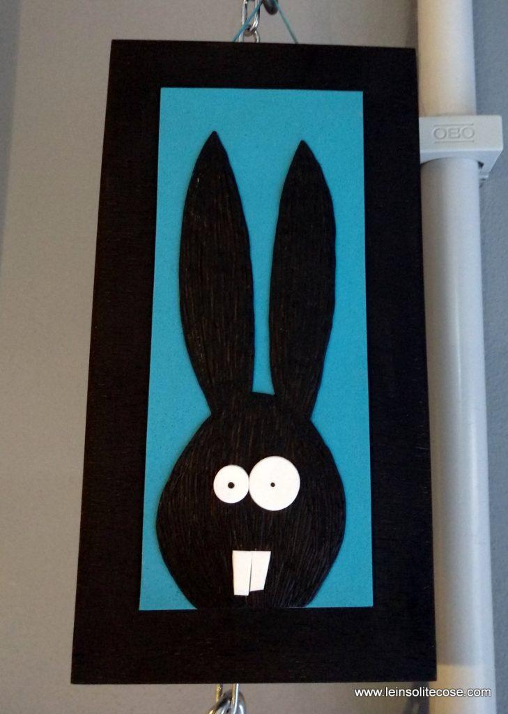 Tavolette con coniglietto stilizzato