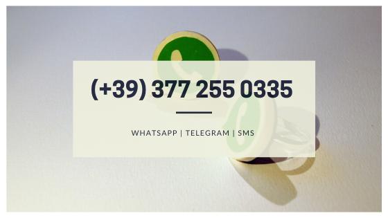 Contatto WhatsApp, Telegram o SMS di Le INsolite Cose 3772550335