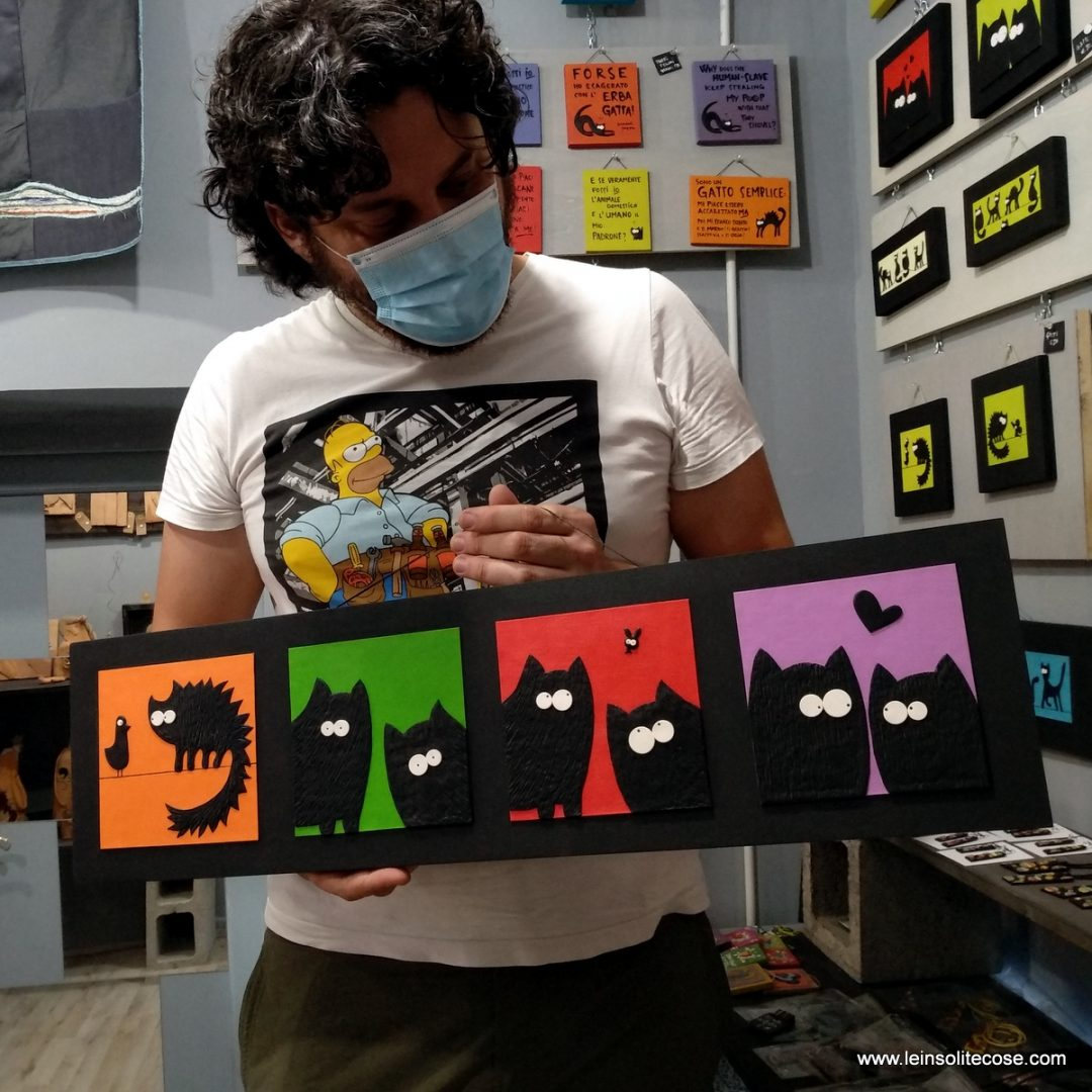 tavola sequenza gatti neri