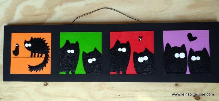 tavole sequenze gatti neri