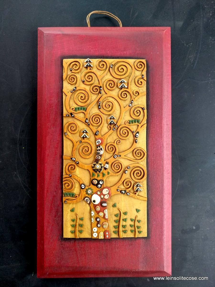 Albero della Vita di Klimt Artigianale